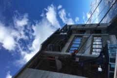 Antenne stazione ripetitore cima Tofana 3244m