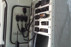Interno unità radio mobile