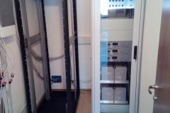 Installazione rack alimentazione COM Alpago