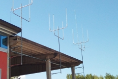 Installazione antenne finita