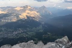 Vista dalla  cima Tofana 3244m