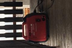 3 giorni di generatore, 5 litri di benzina