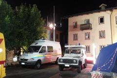 Base in piazza a Cortina