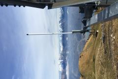 Montaggio antenna 144.800Mhz postazione Faverghera