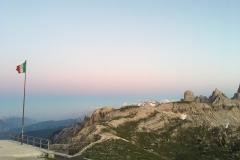 Tramonto rifugio Auronzo