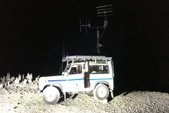 Arrivo alle 3 di notte e montaggio antenne al buio in solitaria