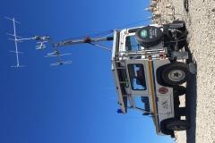 Antenna in alto auto costruita per i 144Mhz