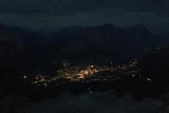 Cortina dalla  cima Tofana 3244m