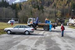 Preparazione trasporto gruppo elettrogeno